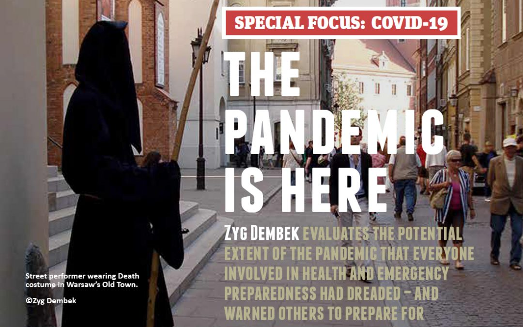 The Pandemic Is Here