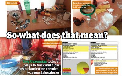 Detection – Chemical Warfare Agents
