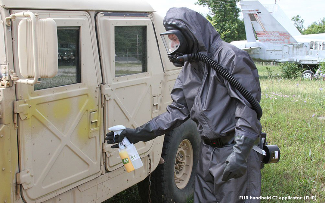 US Army contract for FLIR CW spray