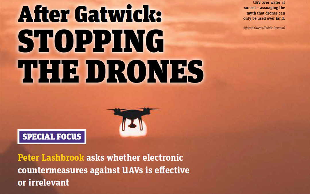After Gatwick: Stopping The Drones