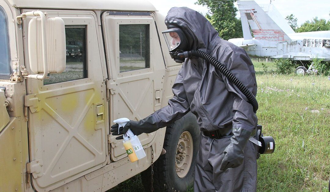 US Army contract for FLIR Nerve Agent Disclosure Spray