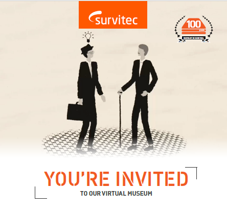 SURVITEC LAUNCHES VIRTUAL MUSEUM TO CELEBRATE ITS 100-YEAR ANNIVERSARY