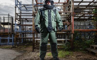 The new 4030 ELITE Bomb Disposal Suit and Helmet System from NP Aerospace