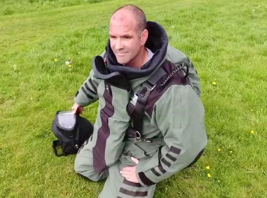 NP Aerospace Sets UK Challenge to Run Fastest Mile in a Bomb Suit