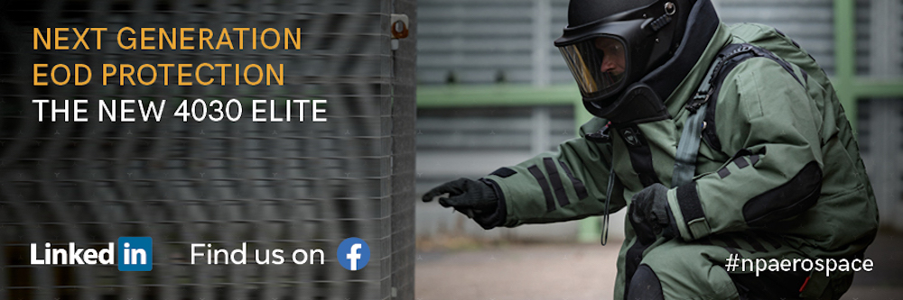 NP Aerospace Awarded NIJ Certification for New Bomb Disposal Suit