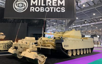Pearson Engineering and Milrem Robotics collaboration explores mobility and survivability for Robotic Combat Vehicles – DSEI 2021